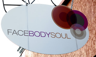 face body soul shop sign