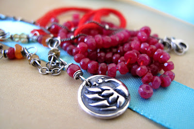 silver phoenix fire charm jewelry necklace