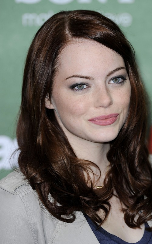 emma stone hair blonde. hair Emma Stone is a natural