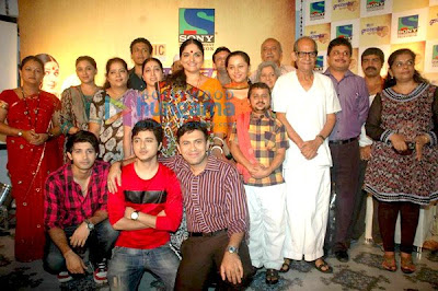 Launch of Sony's new serial 'Krishnaben Khakhrawali'