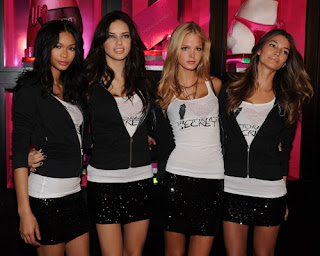 Victoria's Secret Models promoting in SoHo/></a></div><br /><div class=