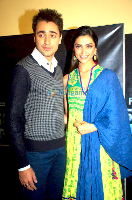 Imran and Deepika promote 'Break Ke Baad' on Sa Re Ga Ma Pa's sets