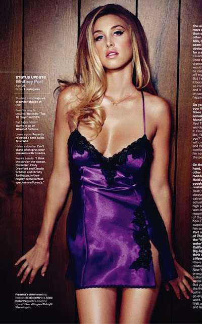Whitney Port Maxim Magazine January 2011