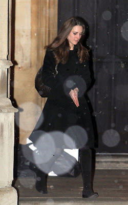 Kate Middleton attending a carol service at St Luke's Church