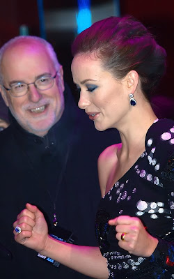 Olivia Wilde and Jeff Bridges at the UK premiere of
