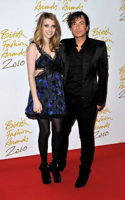 Emma Roberts at the British Fashion Awards Pics