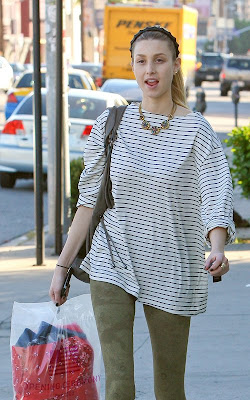 Whitney Port out shopping at Opening Ceremony