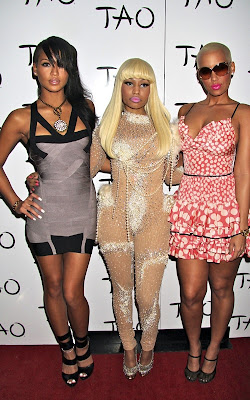 Nicki Minaj celebrating her Birthday at Tao Nightclub Pics