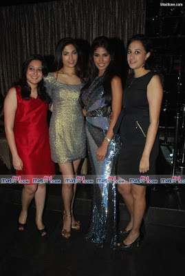 Miss Earth 2010 Nicole Faria's Welcome Bash Pics