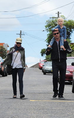 Naomi Watts and Liev Schreiber out in Sydney