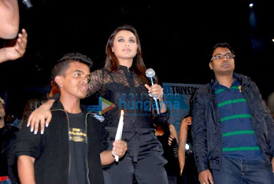 Rani Mukherjee and Vidya Balan at Mood Indigo