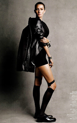 Gisele Bundchen Vogue Magazine February 2011