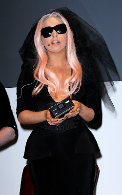 Lady Gaga at the Las Vegas Convention Center