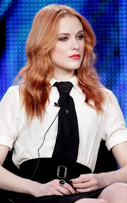 Evan Rachel Wood at the 'Mildred Pierce' panel at the HBO portion of the 2011 Winter TCA press tour