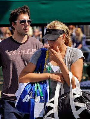 maria sharapova engaged to sasha vujacic. maria Sharapova Gets Engaged