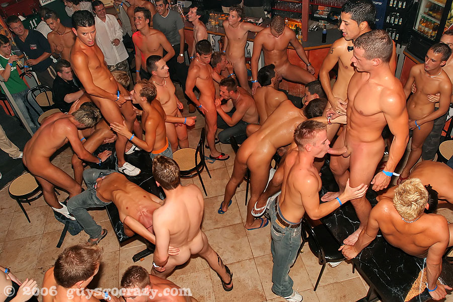 European male stripper dance