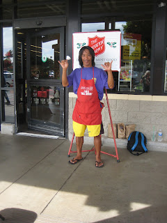 Maui local Nelson Verzosa volunteers for the Salvation Army Red Kettle Campaign