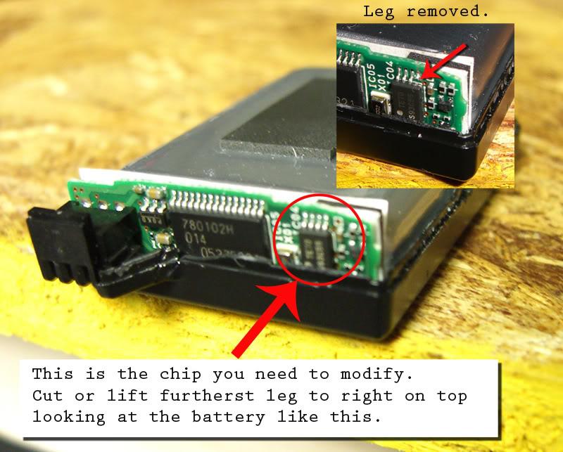 batterie pandora