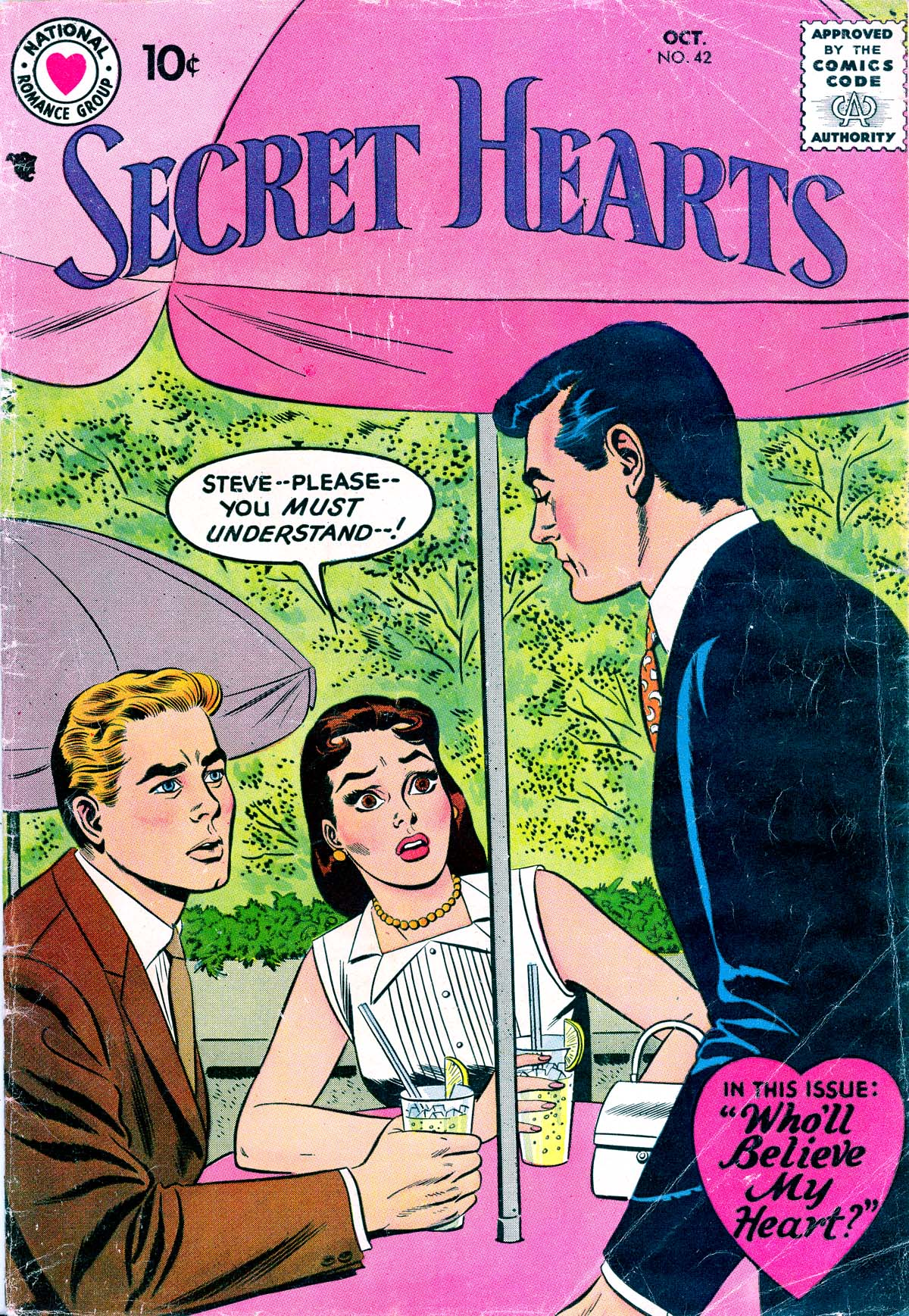 Read online Secret Hearts comic -  Issue #42 - 1