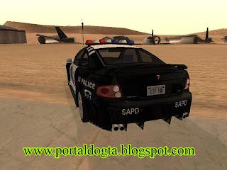 Pontiac GTO police car