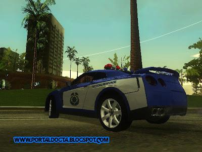 Nissan Skyline R35 Police