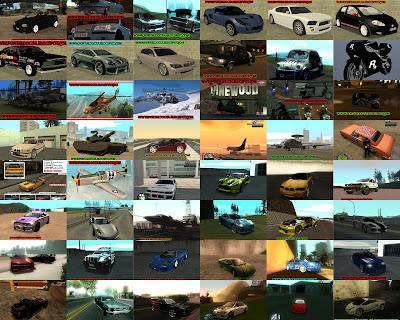 Pacote 50 mods GTA San Andreas