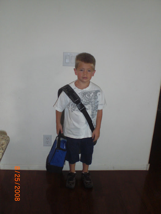Dalton's 1st Day of 2nd Grade