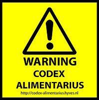 CODEX ALIMENTARIUS  APRES LES GENOCIDES VOICI LES NUTRICIDES....Faites vos recherches....