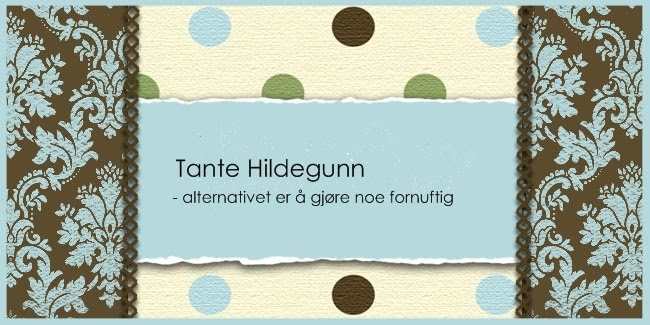 Tante Hildegunn