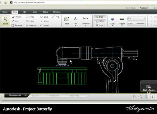 Recursos - Resumen 1ª Semana de Febrero 2010 - Autodesk - Project Butterfly