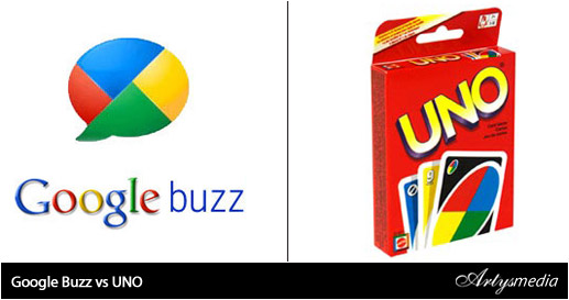 Google Buzz vs UNO