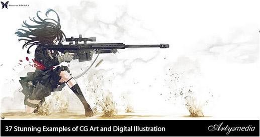 37 ejemplos de CG Art