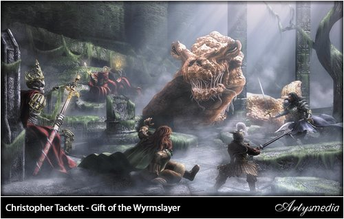 Christopher Tackett - Gift of the Wyrmslayer