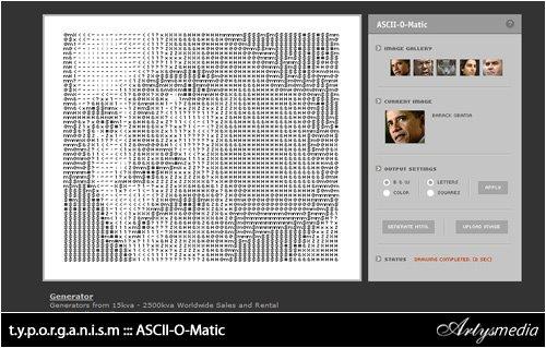 t.y.p.o.r.g.a.n.i.s.m : ASCII-O-Matic