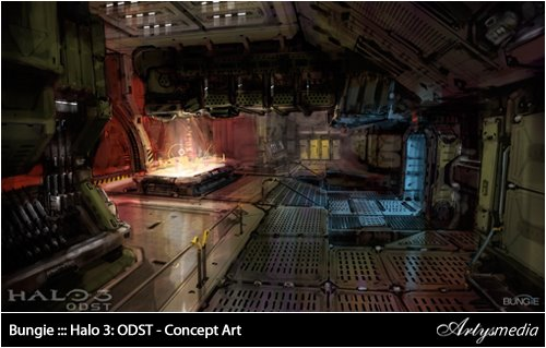 Bungie ::: Halo 3: ODST - Concept Art