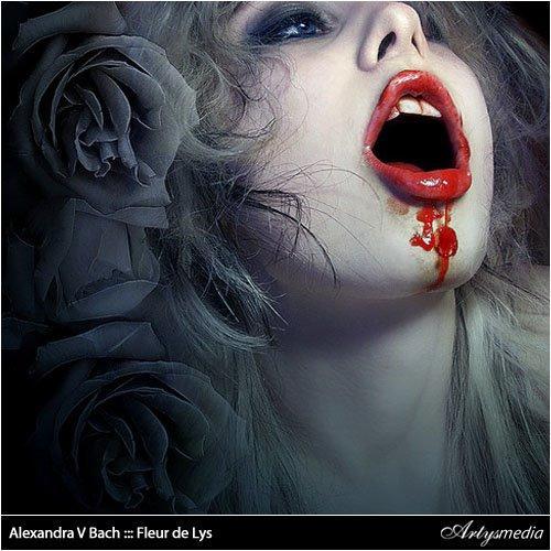 Alexandra V Bach ::: Fleur de Lys