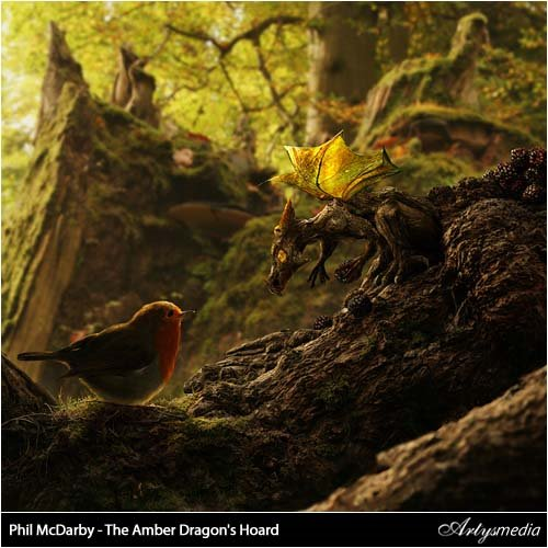 Phil McDarby - The Amber Dragon's Hoard