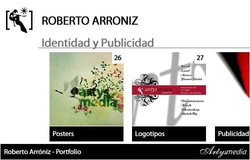 Roberto Arróniz - Portfolio