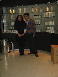 Lina et Tao lors de ma formation