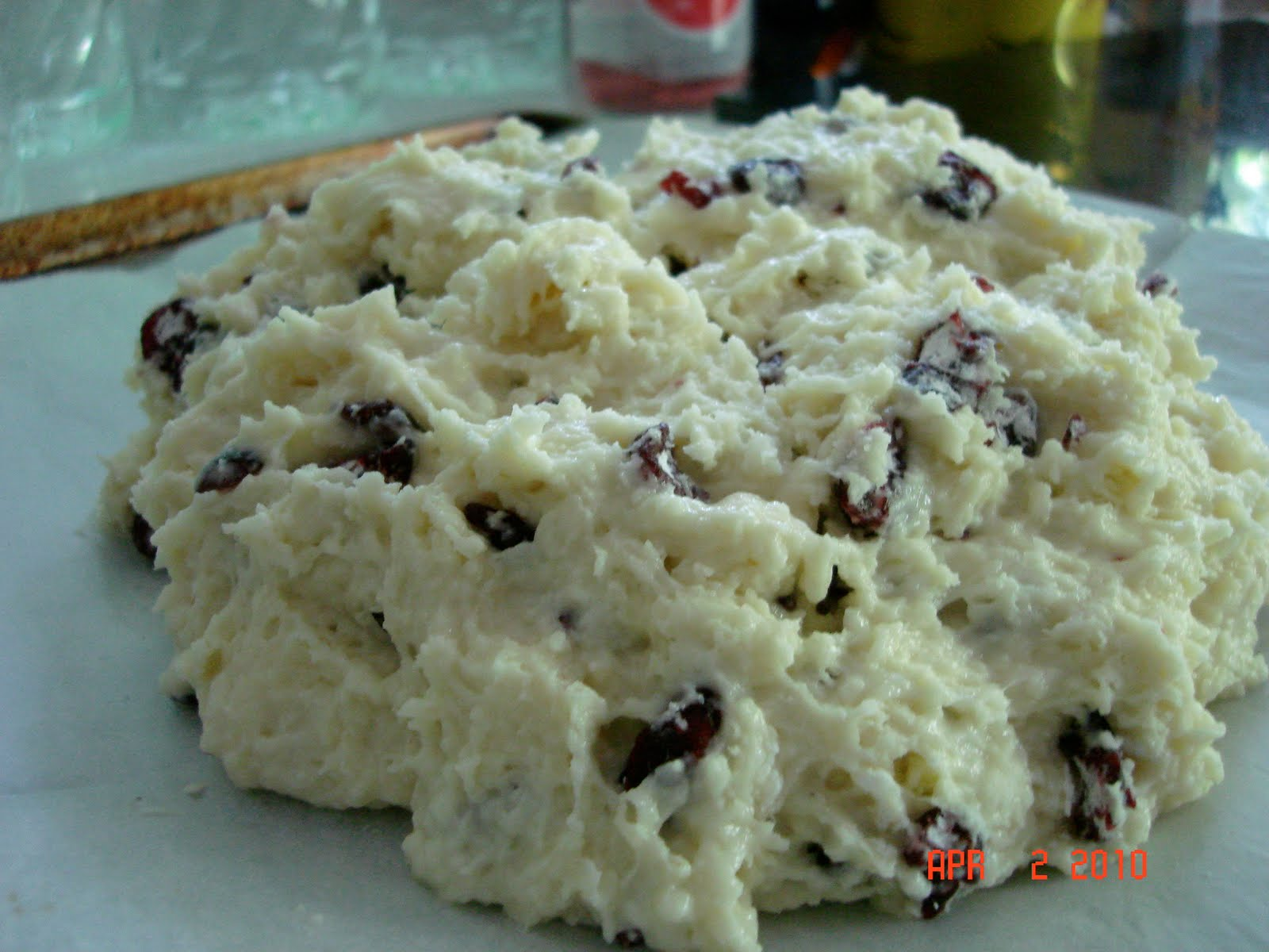 Letters from Thailand: Irish Soda Bread with Cranberries and Almonds