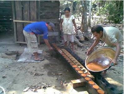 Cara Membuat Gula Merah Dari Kelapa