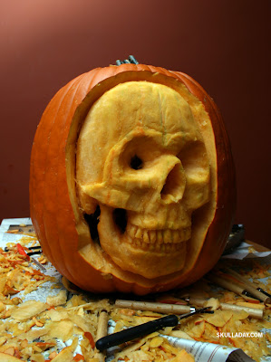 ... of your skull y pumpkins from this year skulls the skull a day book
