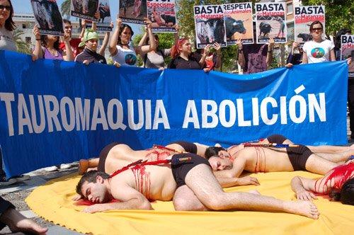 Igualdad Animal Protesta en Sevilla