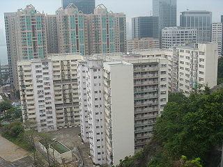 其中一個香港房屋協會乙型屋邨:北角健康村