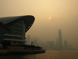 當局建議的排放管制措施若然得以落實,香港空氣污染的情況相信會有明顯改善。(圖片作者:Yym1997)