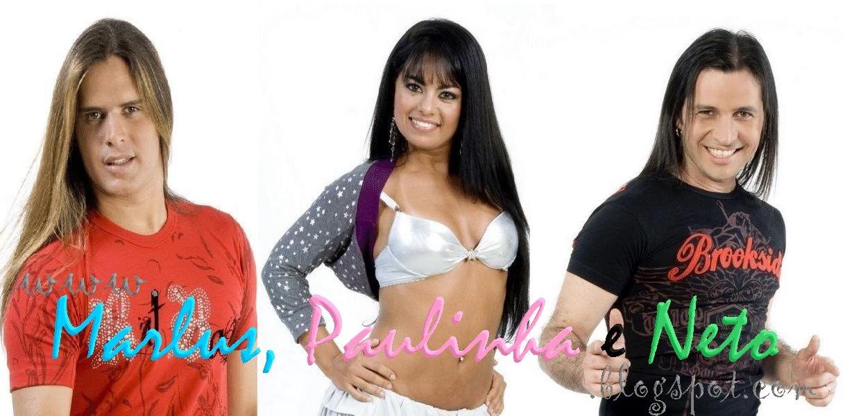 Marlus, Paulinha e Neto
