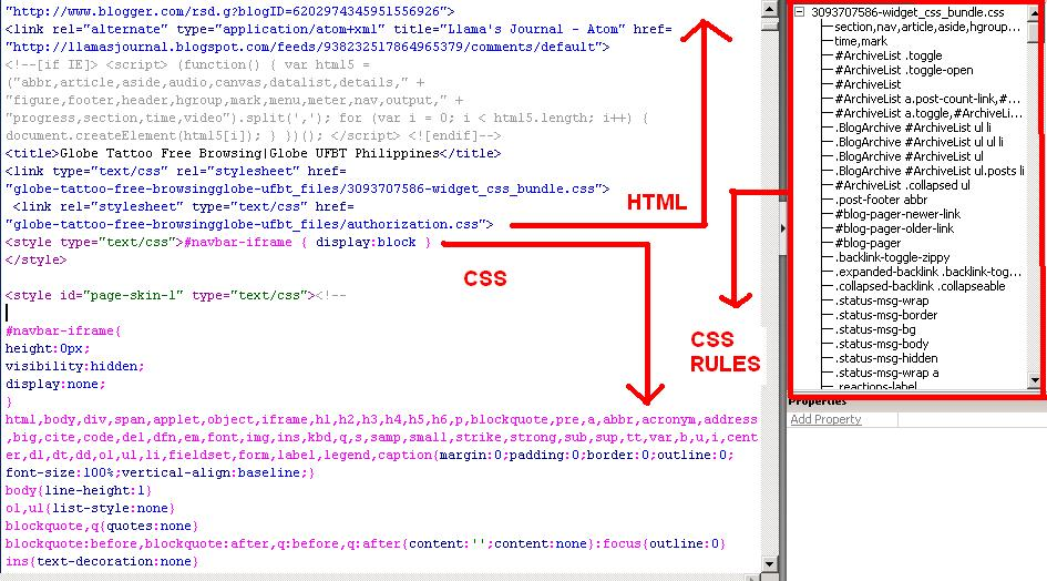 how to add css file to html in dreamweaver