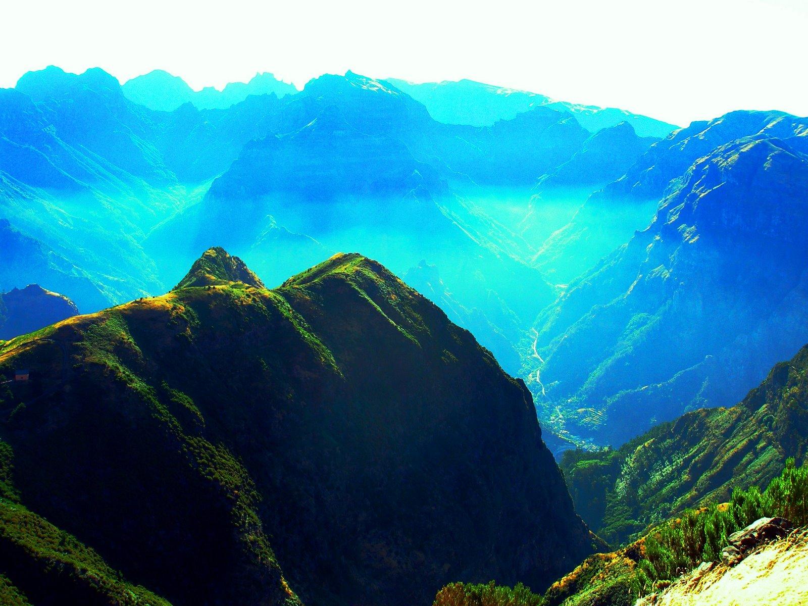 Paisagens de Portugal - Ilha da Madeira - Serras e Montes - Serra de Água