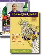 The Veggie Queen&#39;s Book and DVD