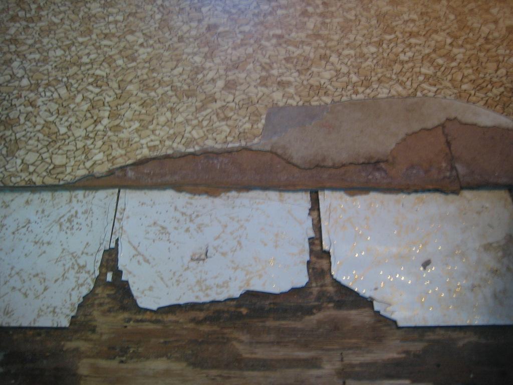 What Does Asbestos Look Like In Walls Or